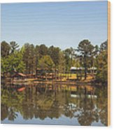 Gee's Bend Alabama Wood Print