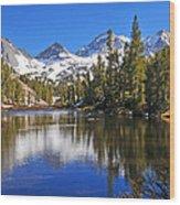 Gem Of The Sierras Wood Print