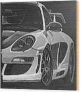 Gemballa Porsche Left Wood Print