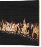 Gemstone City Wood Print