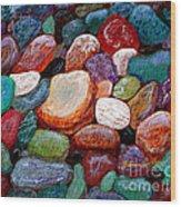 Gemstones Wood Print
