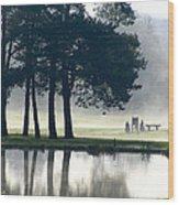 Genegantslet Golf Club Wood Print