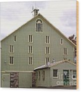General And President Dwight D. Eisenhower Old Barn Wood Print