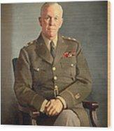 General George C Marshall Wood Print