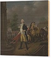 General Humphreys Delivering Wood Print