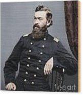 General James S Robinson Wood Print