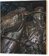 General Longstreet Wood Print