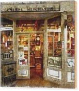 General Merchandise  Wood Print