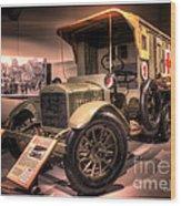 General Motors K-16 Ambulance Wood Print