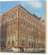 General Post Office Zagreb Wood Print