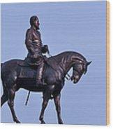 General Robert E Lee Wood Print