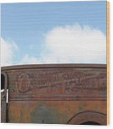 General Sherman Whiskey Wood Print