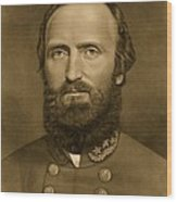 General Stonewall Jackson 1871 Wood Print by Anonymous