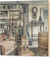 General Store - 19th Century Seaport Village Wood Print