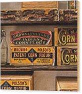 General Store 2 Wood Print