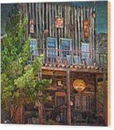 General Store Wood Print by Gunter Nezhoda