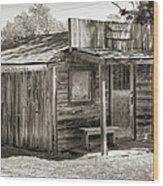 General Store II Wood Print