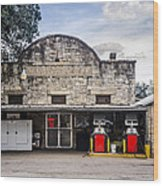 General Store In Independence Texas Wood Print