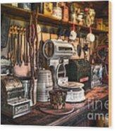 General Store Wood Print