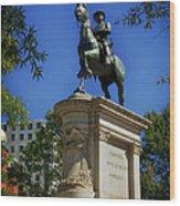 General Winfield Scott Hancock Statue - Washington Dc Wood Print