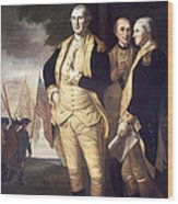 Generals At Yorktown, 1781 Wood Print