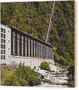 Generator House Of Hydro-electric Power Plant Wood Print