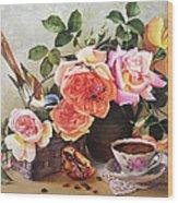Generous Blooming Wood Print