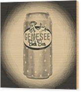 Genesee Bock Beer Wood Print