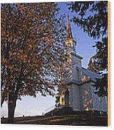 Genesee Church Wood Print