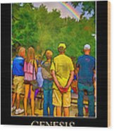 Genesis 9 Wood Print