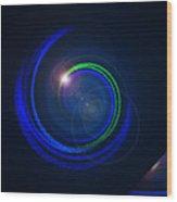 Genesis Digital Art Wood Print