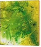 Genesis In Tourmaline Wood Print