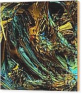 Genesis In Yellow Wood Print