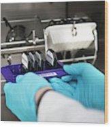 Genetic Analysis Wood Print