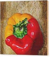 Genetically Modified Capsicum Wood Print