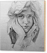 Genevieve Wood Print