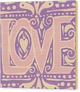 Gentel Love  Wood Print