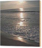 Ocean - Gentle Morning Waves Wood Print
