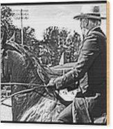 Gentleman Rider Wood Print