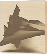 Geo Mirage Wood Print