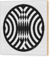 Geomentric Circle 4 Wood Print
