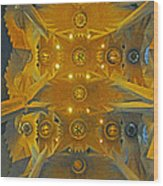 Geometric Abstract Wood Print