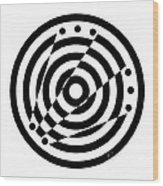 Geometric Circle 6 Wood Print