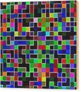 Geometric Pattern 2 Wood Print