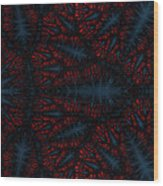 Geometric Patterns No. 19 Wood Print