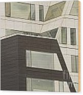 Geometric Shapes In Architecture Wood Print