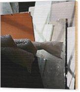 Geometric Still Life Wood Print