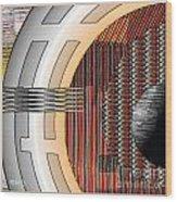 Geometrica 129 Wood Print