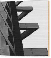Geometrized Wood Print
