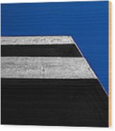 Geometry-01 Wood Print by Fabio Giannini